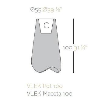 Vondom VLEK 100 bloempot