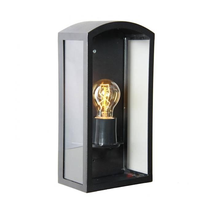 KS verlichting Como RVS Zwart wandlamp - Tuinvoordeel.eu