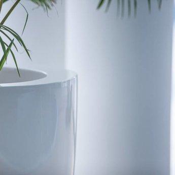 Buxus Hoogglans polyester 40x40x100 cm plantenbak