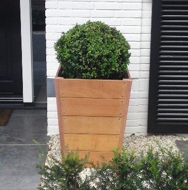 Verrijdbare Plantenbakken Voor Buiten.Grote Bloembakken Tuinvoordeel Eu