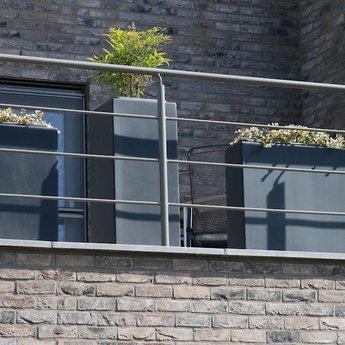 Buxus polyester 80x80x80 cm plantenbak