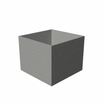 bloembak polymeerbeton Banco 80x80x80 cm