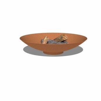 Burni vuurschaal Cortenstaal 80 x 21 cm
