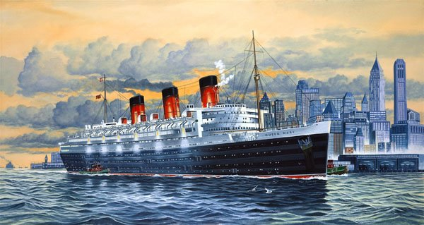 Revell Luxusliner Queen Mary