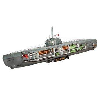 Revell German Submarine Type XXI with Interior