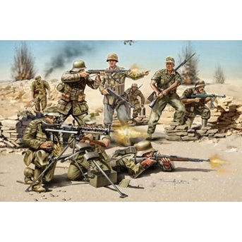 Revell German Infantry - Africa Corps WWII