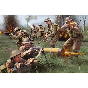 Revell British Infantry WWII