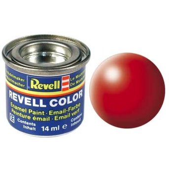 Revell Email color: 332 Bright Red (satin)