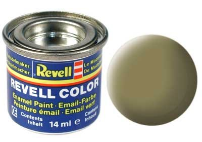 Revell Email color: 042, Olijfgeel (mat)