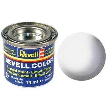 Revell Email color: 301, White (satin)