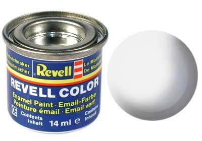 Revell Email color: 301, Wit (zijdemat)
