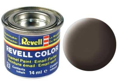 Revell Email color: 084, Leather Brown (mat)