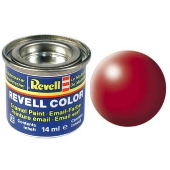 Revell Email color: 330, Fire Red (satin)