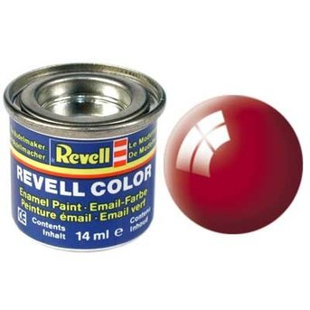 Revell Email color: 031, Fire Red (glossy)