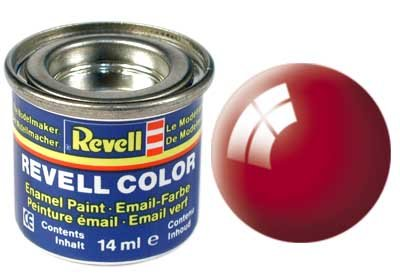 Revell Email Farbe: 031, Fire Red (glänzend)