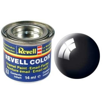 Revell Email color: 007, Zwart (glanzend)