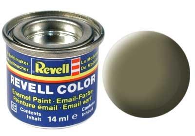 Revell Email color: 045 Light olive (mat)
