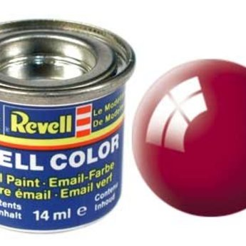 Revell Email Farbe: 034, Ferrari-Rot (glänzend)