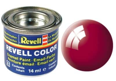 Revell Email color: 034, Ferrari rood (glanzend)