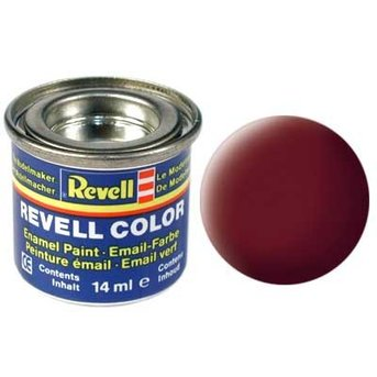 Revell Email color: 037, roof tile-red (mat)