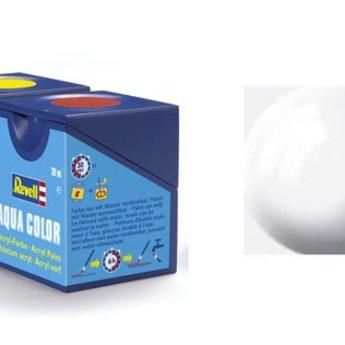 Revell Aqua Color : 004, Wit (hoogglans)