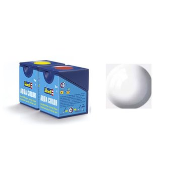 Revell Aqua Color: 004 White (Glanz)
