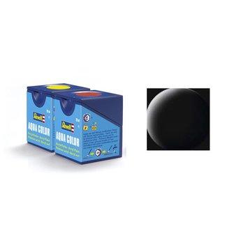 Revell Aqua Color: 008, Black (matte)