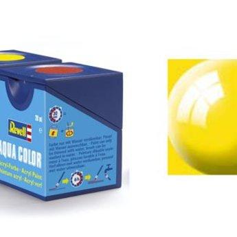 Revell Aqua Color: 012, Yellow (gloss)