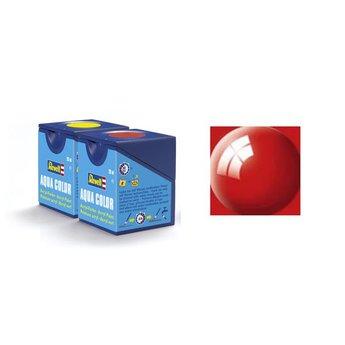 Revell Aqua Color: 031, Fire Red (gloss)
