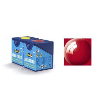 Revell Aqua Color : 034, Ferrari-rood (hoogglans)