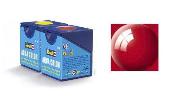 Revell Aqua Color 034, Ferrari-Rot (Glanz)