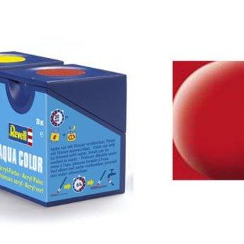 Revell Aqua Color: 036, Hochrot (mat)