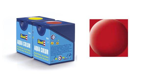 Revell Aqua Color: 036, Crimson (mat)