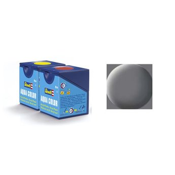 Revell Aqua Color: 047, Mouse Grey (mat)