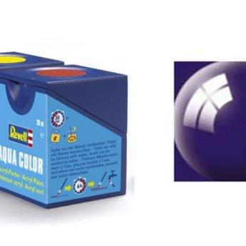 Revell Aqua Color : 054, Nachtblauw (hoogglans)