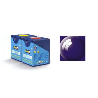 Revell Aqua Color: 054, Night Blue (gloss)