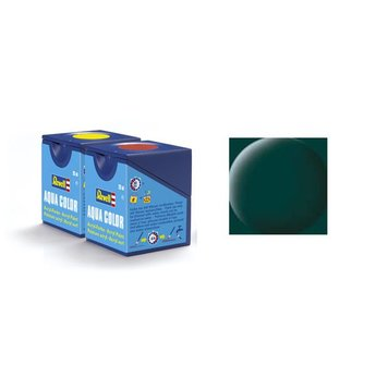 Revell Aqua Color: 068, Dark Green (mat)
