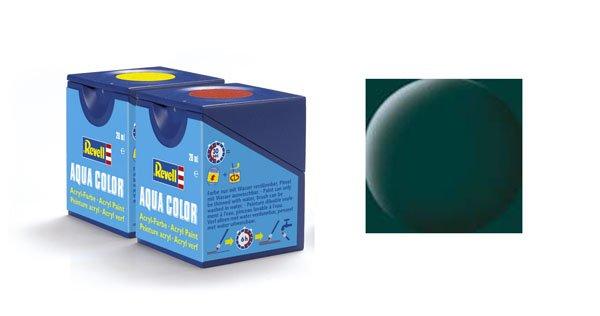 Revell Aqua Color: 068, Dunkelgrün (mat)