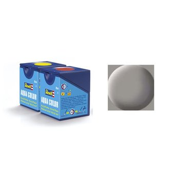 Revell Aqua Color: 075, Stone Grey (mat)
