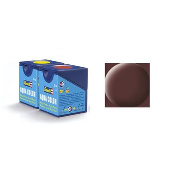 Revell Aqua Color 084, Leather Brown (mat)