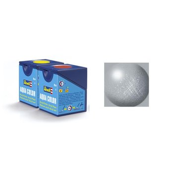 Revell Aqua Color: 090, Silber (metallic)