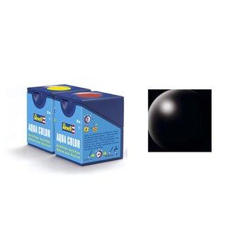 Revell Aqua Color: 302, black (satin)