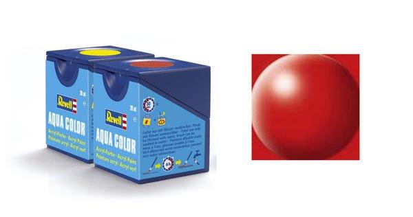Revell Aqua Color 330, Fire Red (satin)