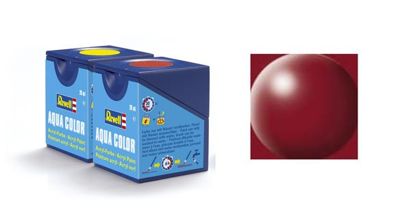 Revell Aqua Color : 331, Purperrood (zijdemat)