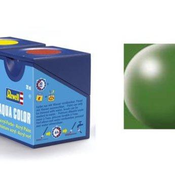 Revell Aqua Color : 360, Varengroen (zijdemat)