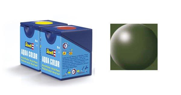 Revell Aqua Color : 361, Olijfgroen (zijdemat)
