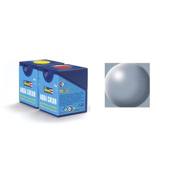 Revell Aqua Color 374, Gray (satin)