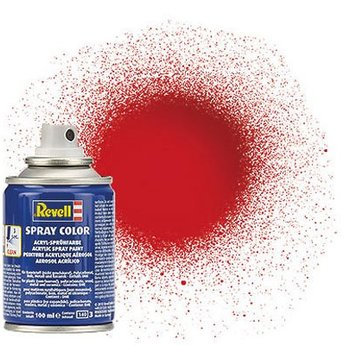 Revell Spray Color: 031 Fire red (glossy)