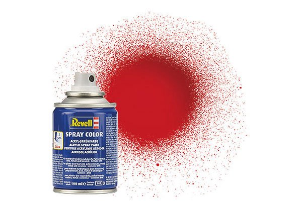 Revell Spray Color : 031 Vuurrood (glanzend)