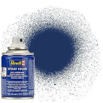 Revell Spray Color : 200 RBR Blauw (metallic)